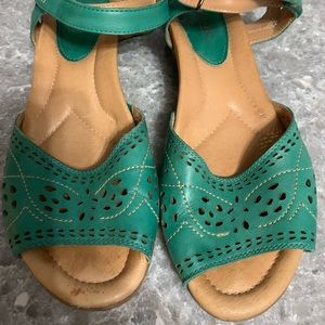 Earth Dress Sandals- turquoise